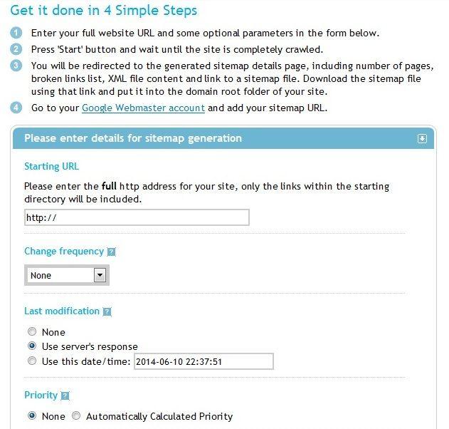 Sitemap-Generation-Tool