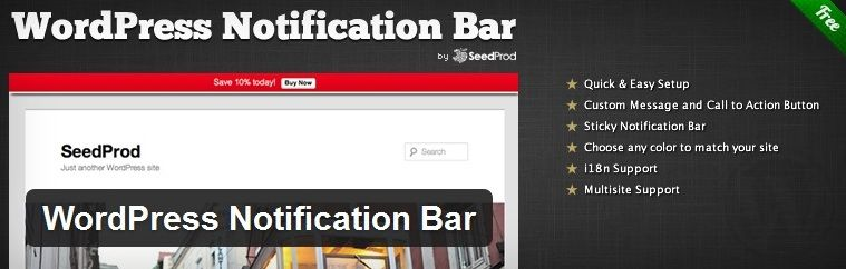 wordpress-notification-bar