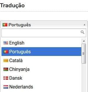 plugin tradução wordpress