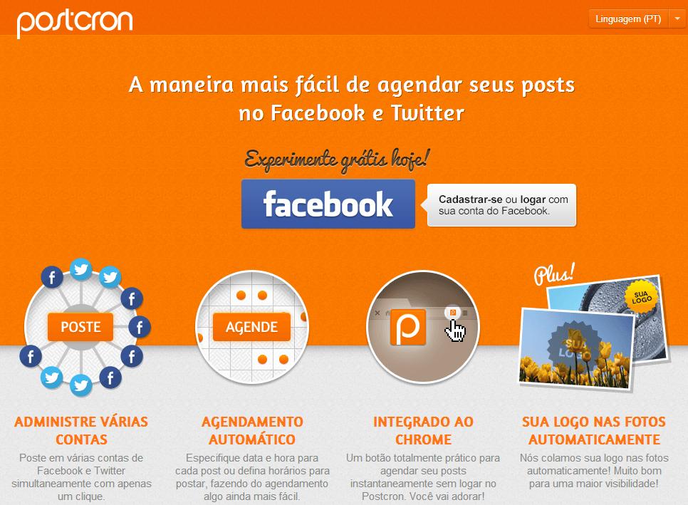 PostCron – Como publicar em vários grupos do facebook ao mesmo tempo