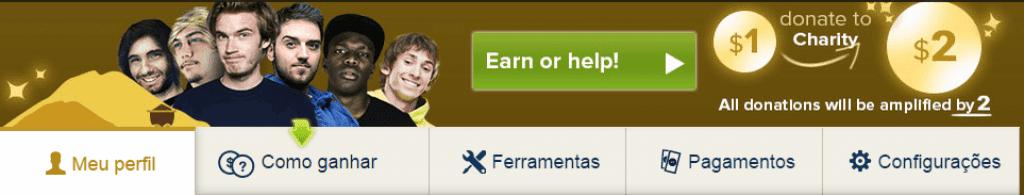 Ganhar dinheiro jogando na internet gratis