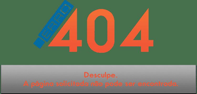Erro 404 a página não pode ser encontrada – Aprenda como corrigir