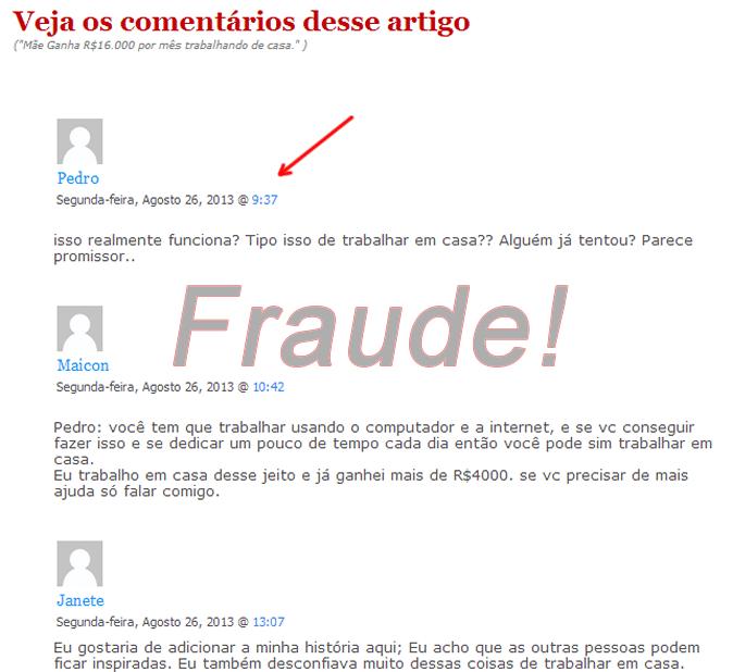 fraude mãe ganha 16.000 mês na internet mentira