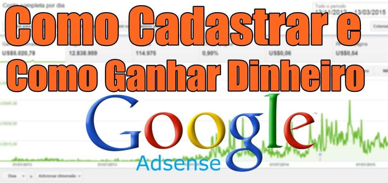 Aprenda como cadastrar no google adsense e ganhar dinheiro (Completo)