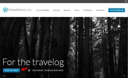 fazer blog gratis wordpress