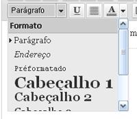 estilo texto wordpress