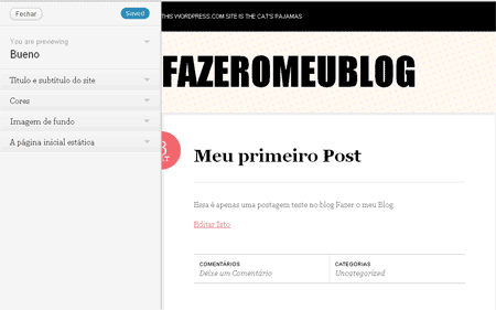 personalizar titulo blog wordpress