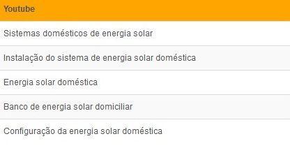 painel para energia solar