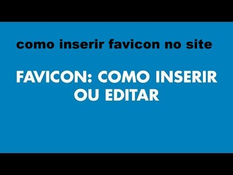 Como colocar favicon no wordpress – Como inserir favicon no site