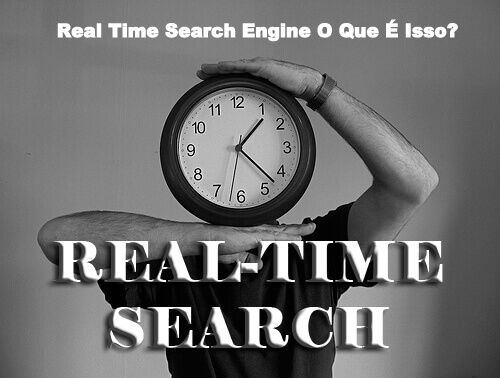 Real Time Search Engine