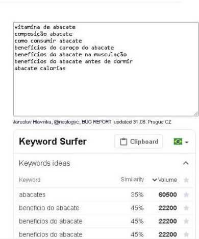 app keyword surfer 2