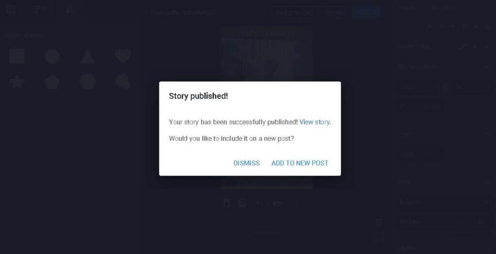 como publicar web stories